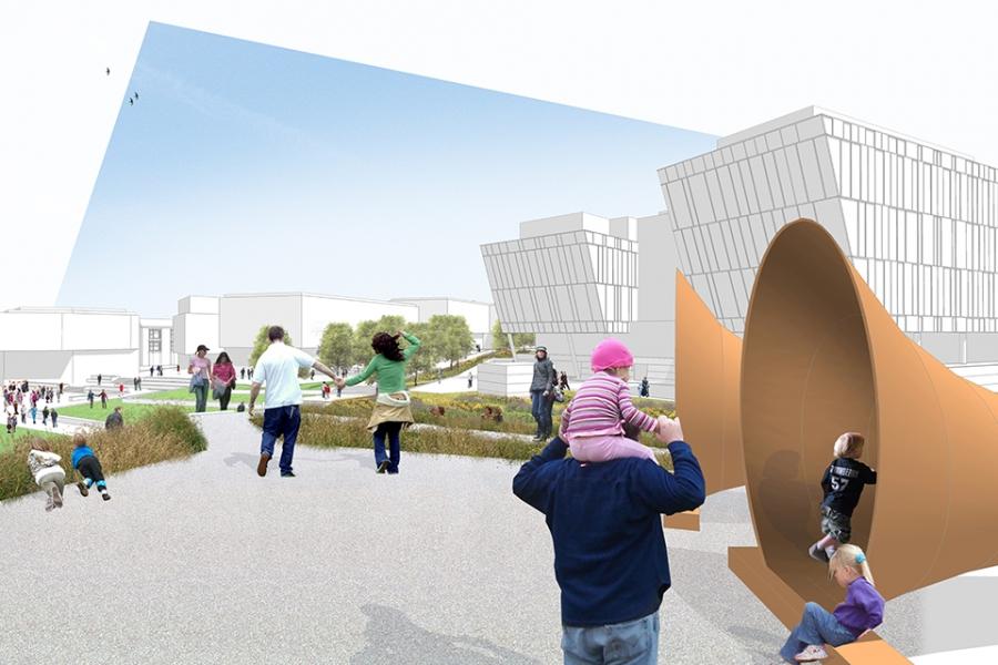 New Shore Park Concept