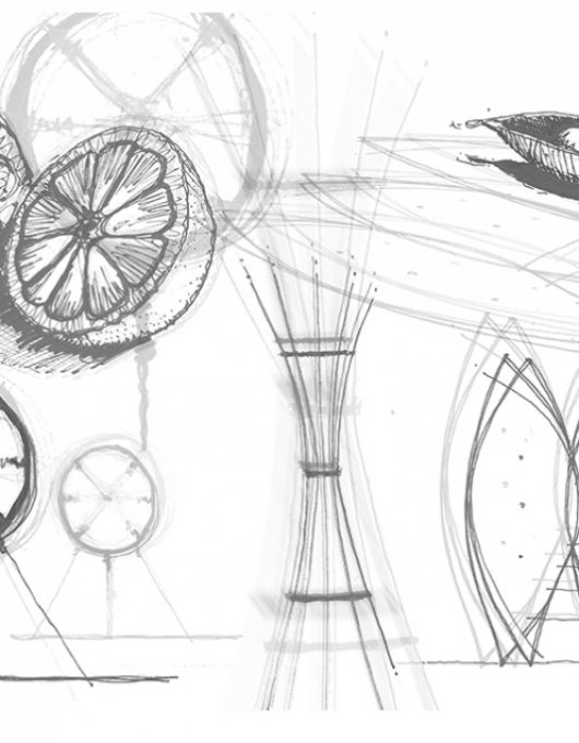 RIBA Pylon Design Concept Sketch
