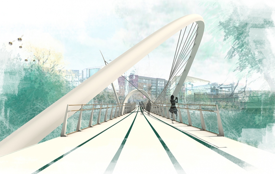 Salford Meadows Bridge Concept