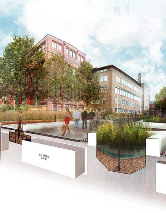 Newcastle University King's Road Concept