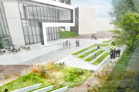 Landscape design - Huddersfield University